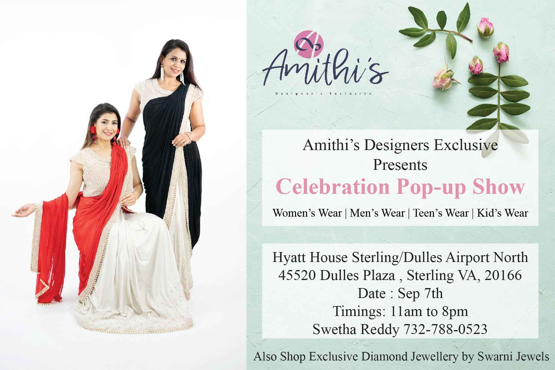 AMITHI'S DESIGNERS EXCLUSIVE Celebration Pop-up Show