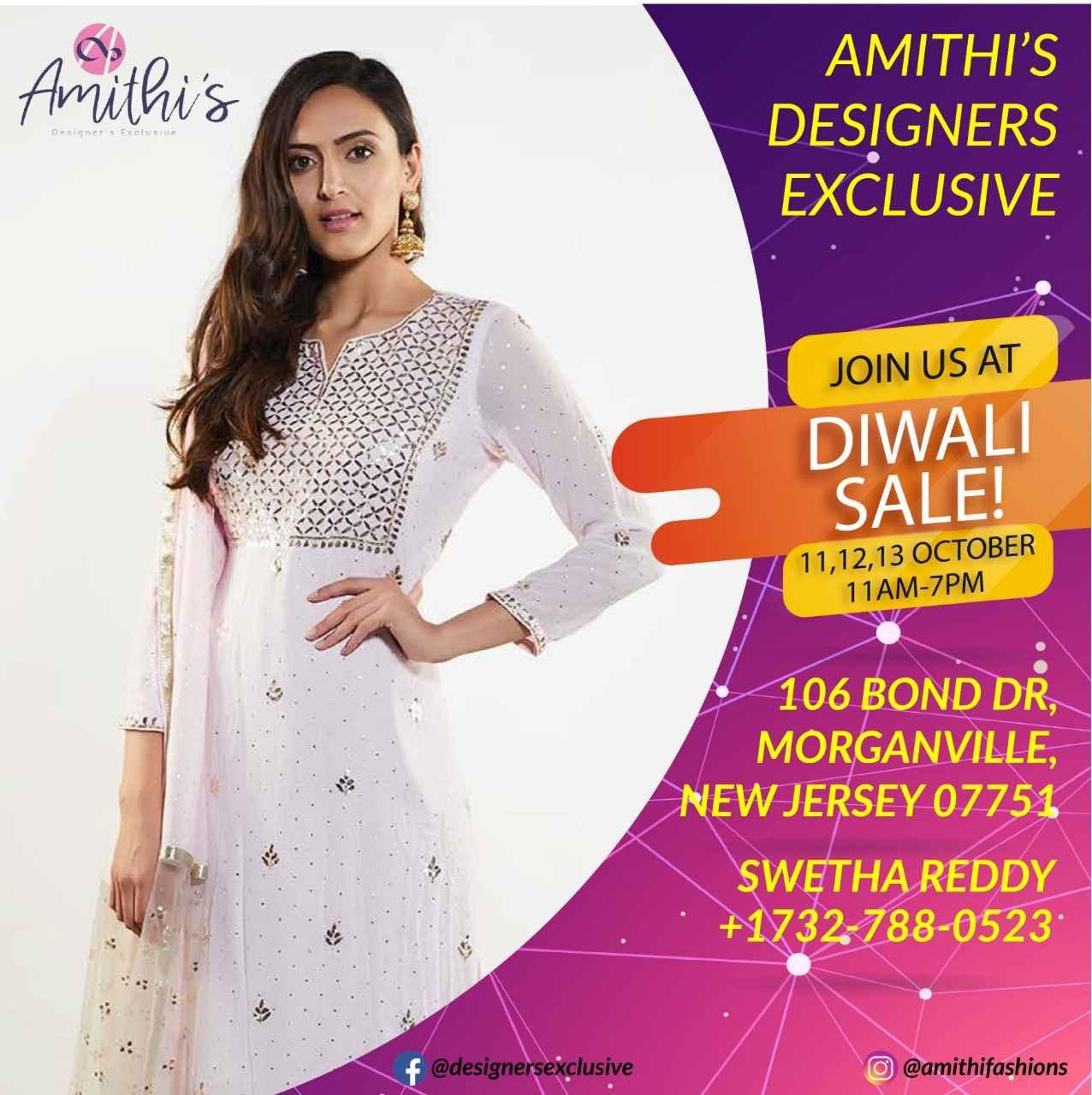 AMITHI'S DESIGNERS EXCLUSIVE