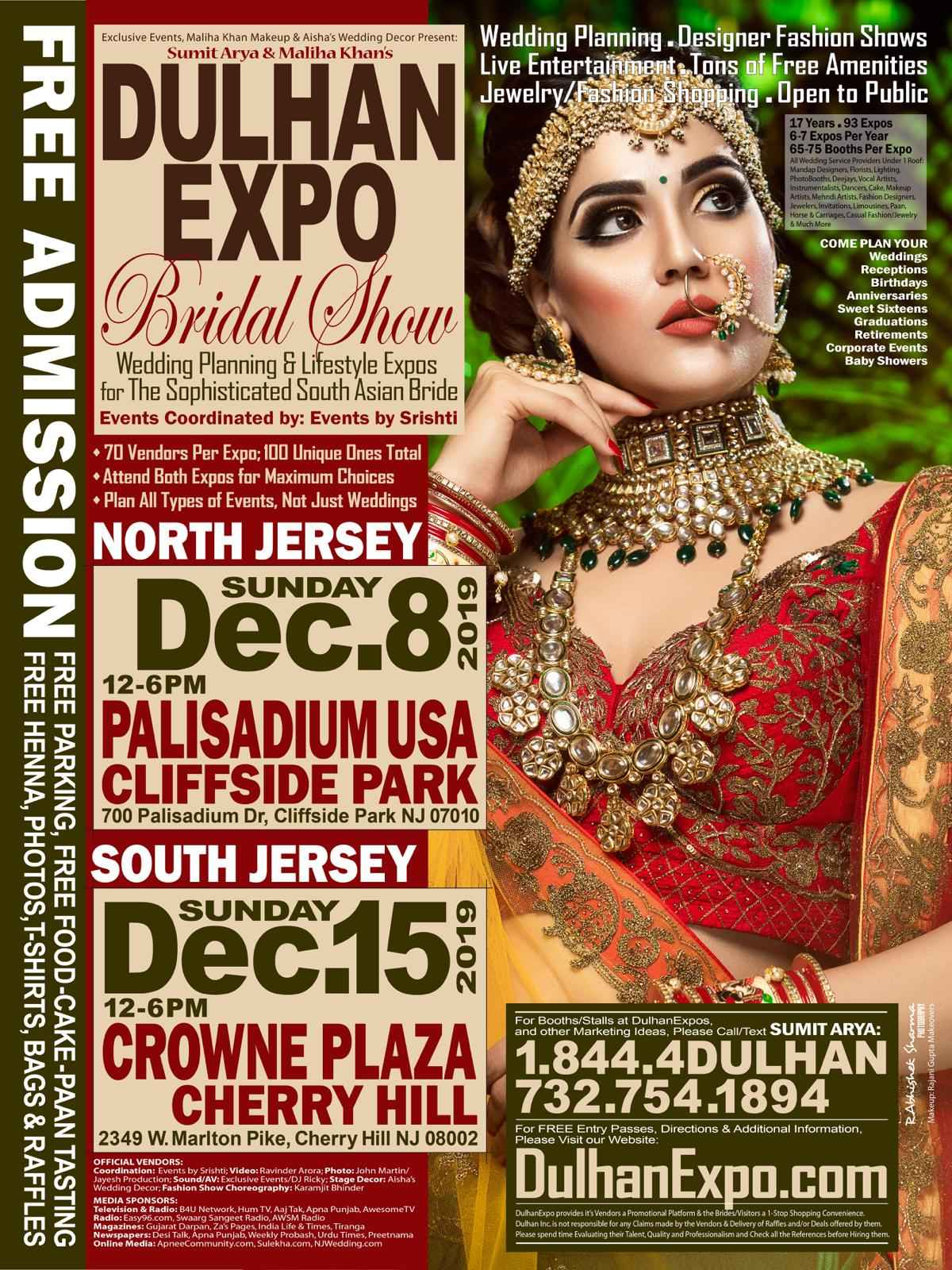 DULHAN EXPO BRIDAL SHOWS