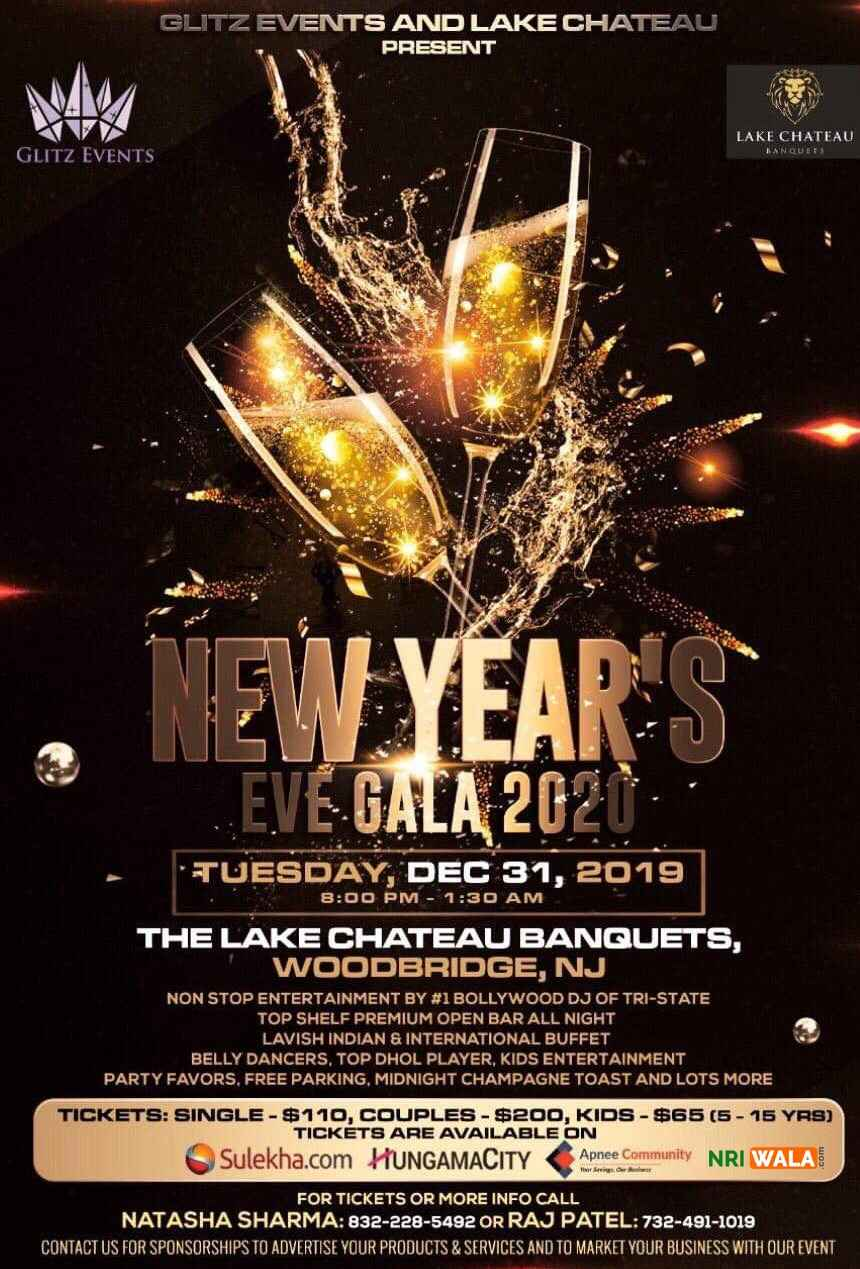 The No.1 New Year's Eve 2020 Party of New Jersey