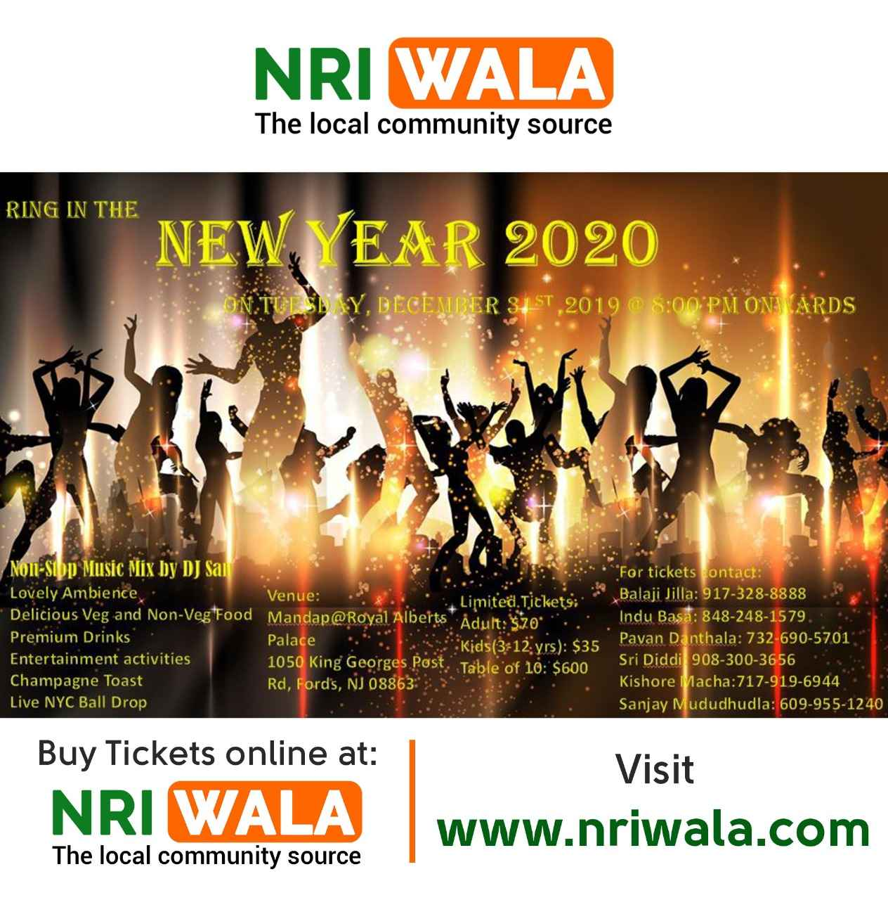 Ring in the NEW YEAR 2020