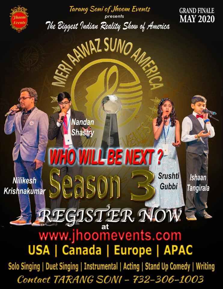Meri Aawaz Suno America - Season 3