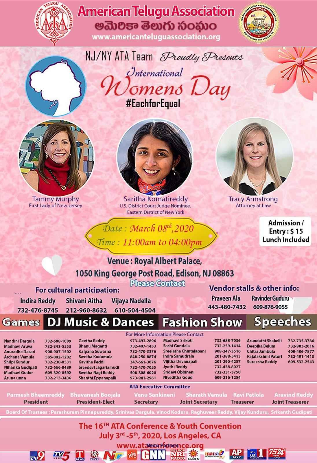ATA International Women's Day 2020