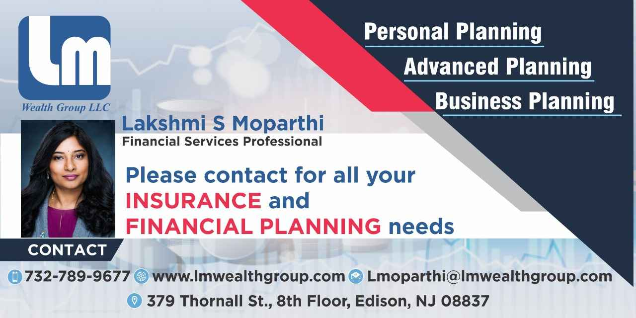 Lakshmi Moparthi Financial Services Professional with LM Wealth Group