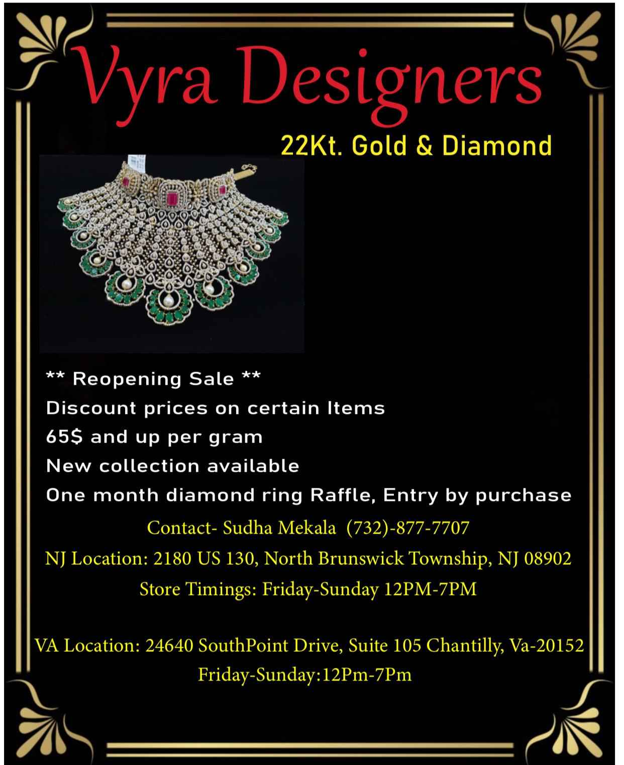 Vyra Designers - 22Kt. Gold & Diamond