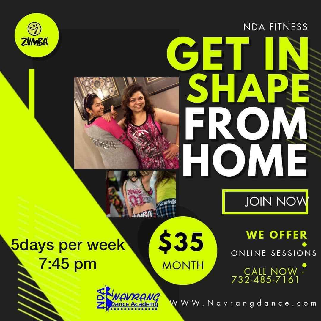 Navrang Dance Academy - GET IN SHAPE FROM HOME