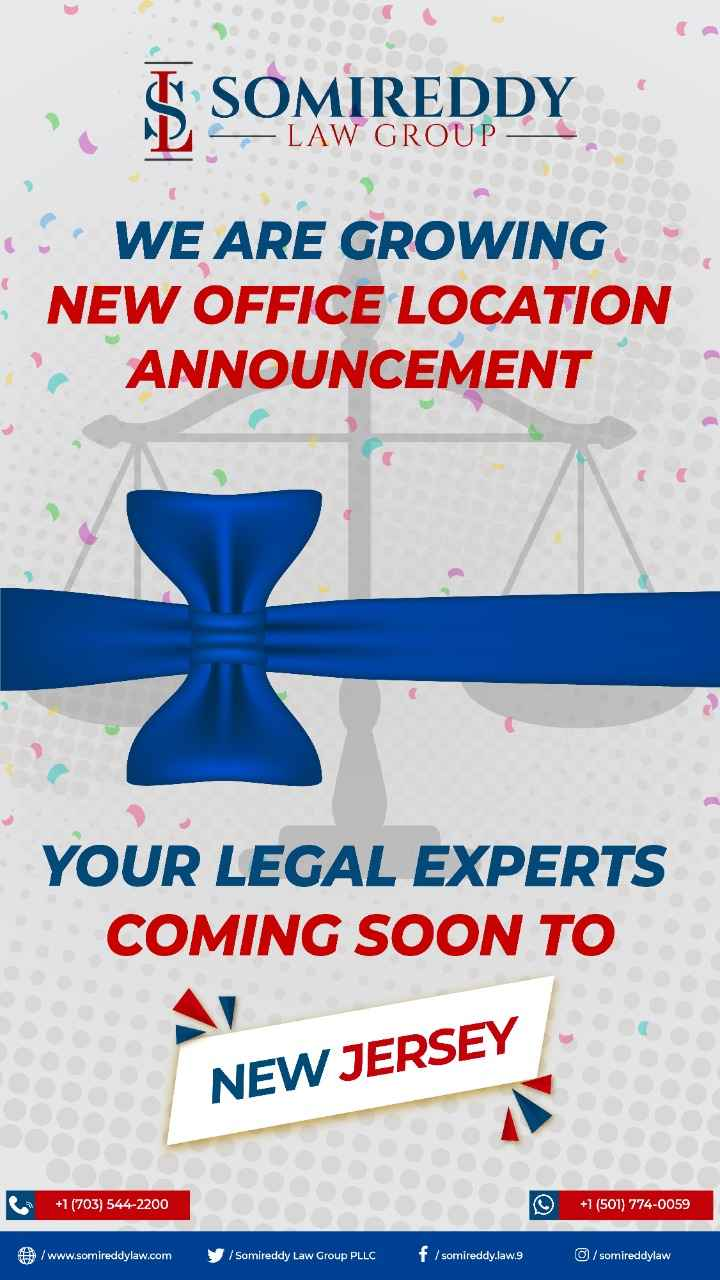 Somireddy Law Grand Opening IN New Jersey