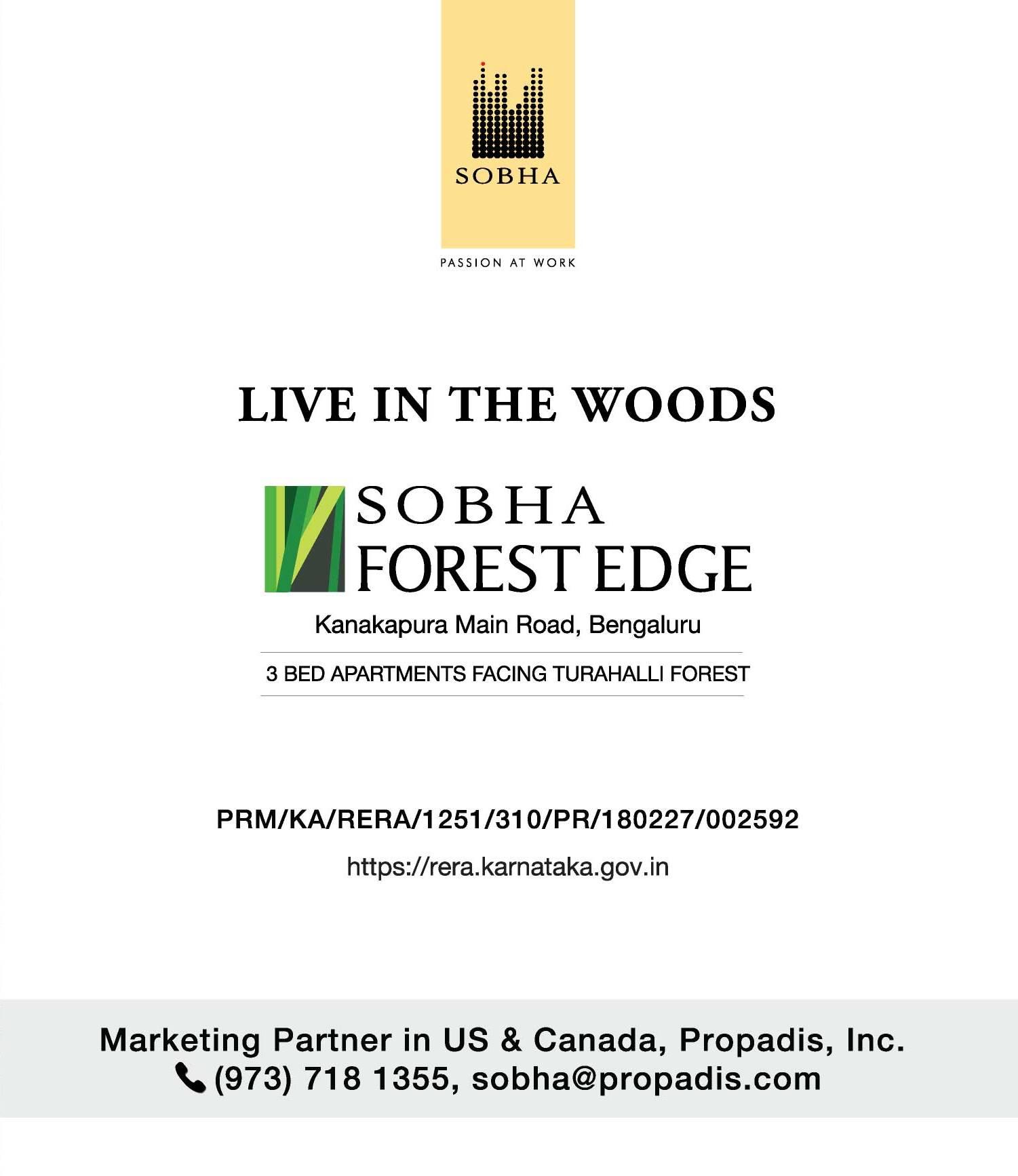 SOBHA FOREST EDGE Kanakapura Main Rd, Bengaluru