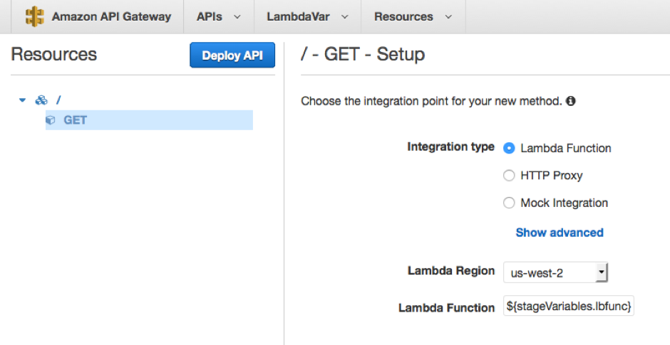 Using API Gateway stage variables to manage Lambda functions | AWS Compute  Blog