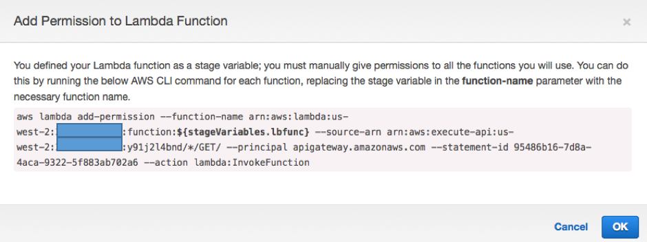 Using API Gateway stage variables to manage Lambda functions | AWS