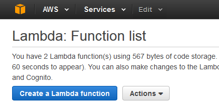 Creating an AWS Lambda Function