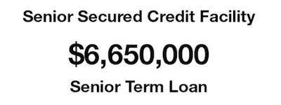 Senior Secured Credit Facility