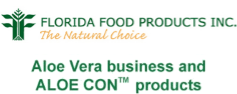 Florida Food Products' Aloe Vera business and ALOE CON products