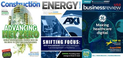 AXI International has been featured in many prominent industry magazines including Global Construction, Energy Digital, and Business Review USA.