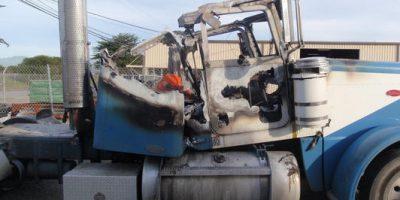 DPF-Truck-Fire