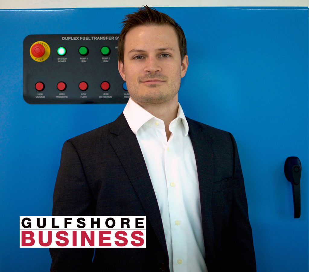 AXI International's Jeff Poirier honored by Gulfshore Business are one of their 40 under 40 award recipients.