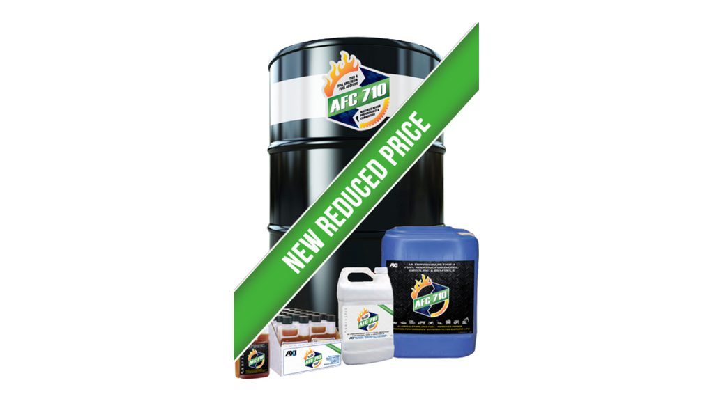 Price reduction announcement for AFC710 fuel additive.