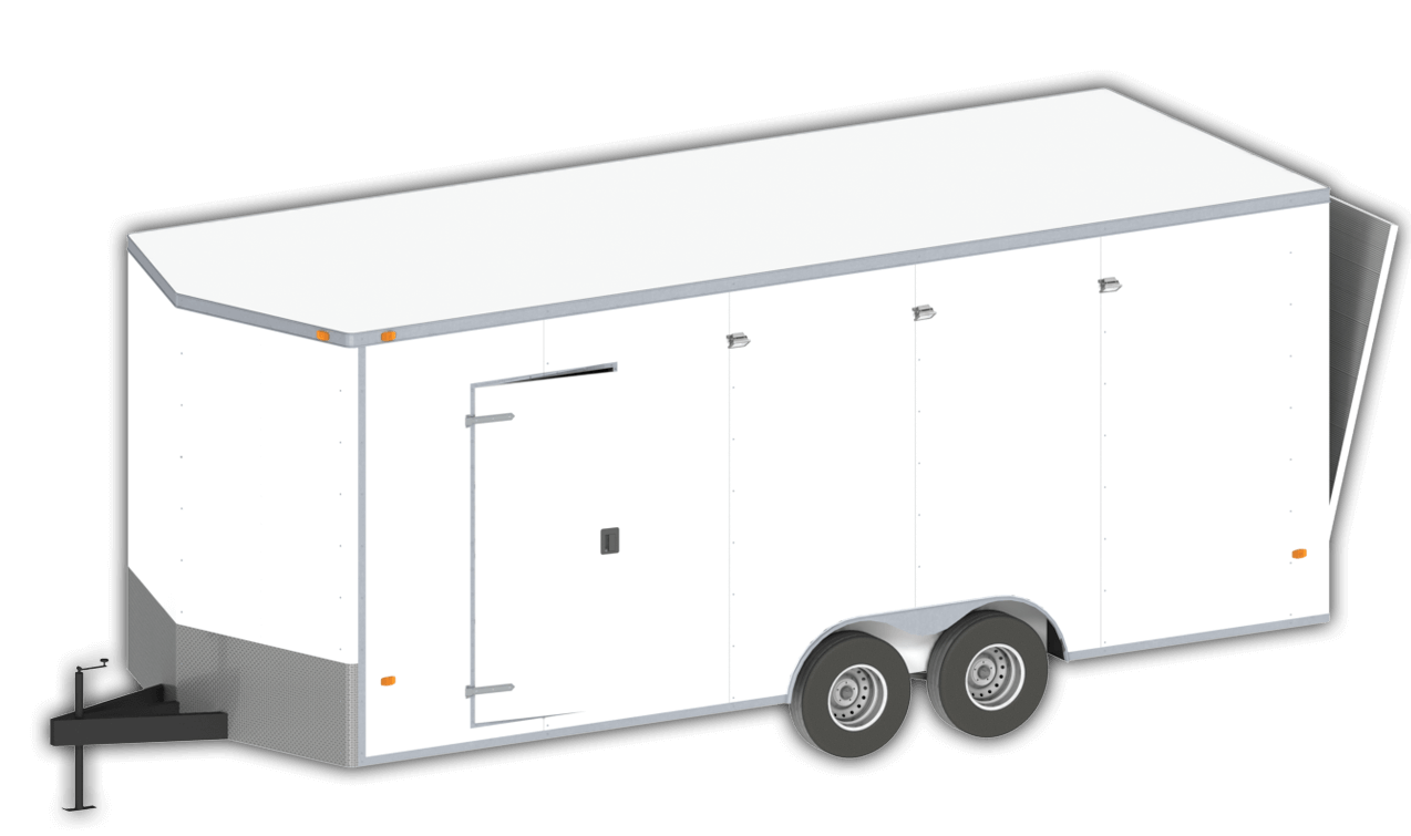 enclosed fuel polishing trailer premium