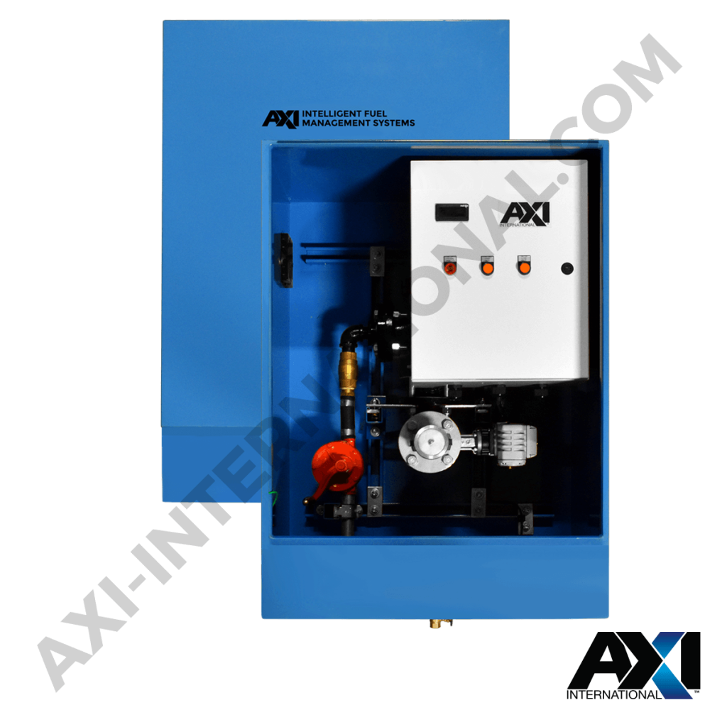 Intelligent fuel port system by AXI International for intelligent fuel management.