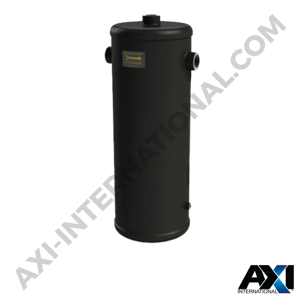 Water separator filter for removing water from fuel and allowing uncontaminated fuel to pass through.