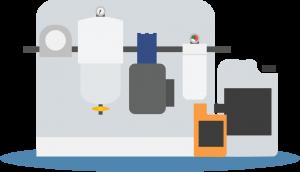 Best ways to remove algae sludge in diesel fuel.