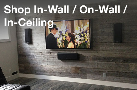 Shop In-Wall/On-Wall/In-Ceiling and Architectural Speakers