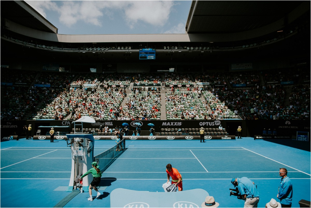 travel photography, melbourne, skyscrapers, australian open 2016, rod laver arena, melbourne city