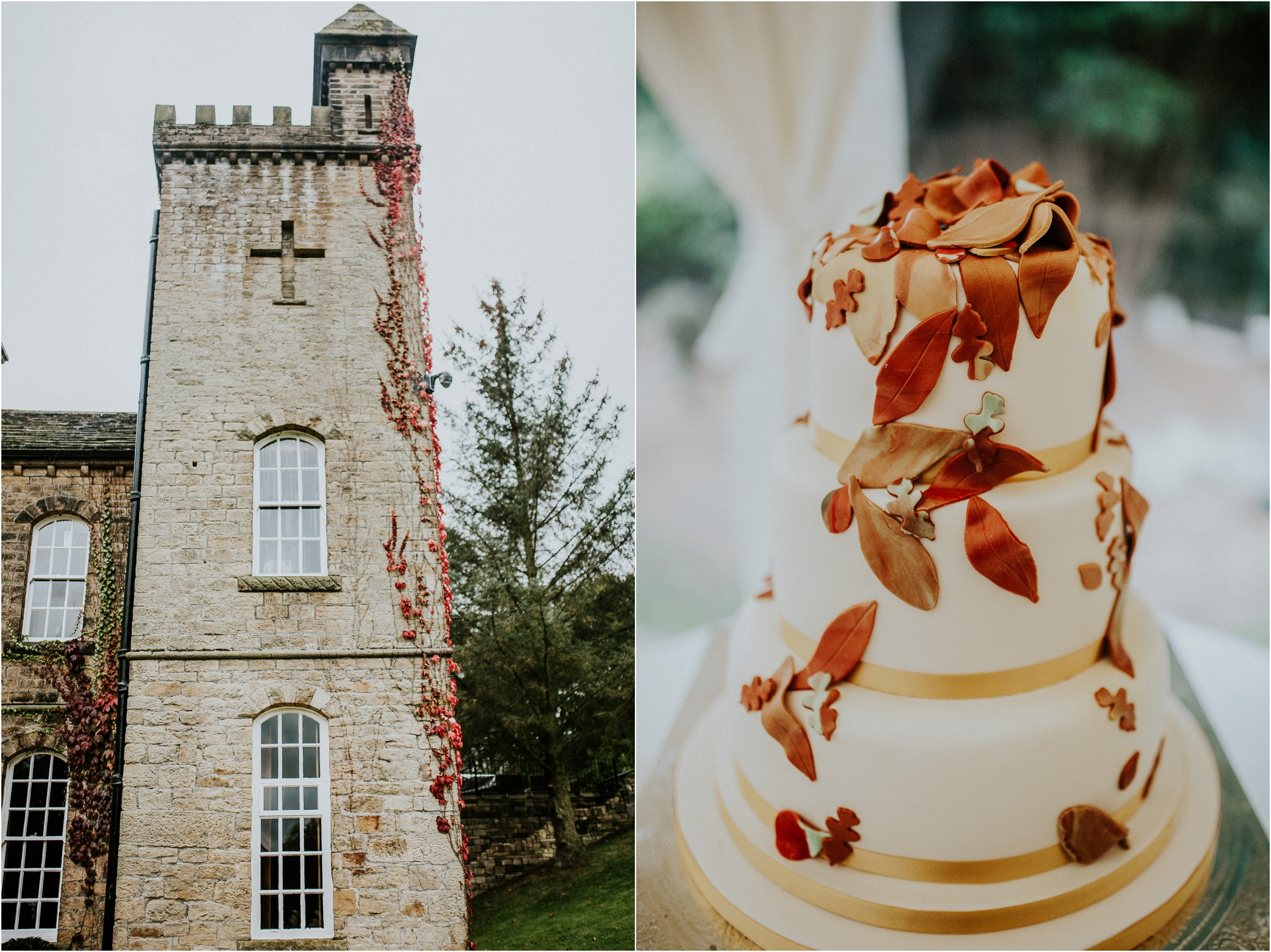 Beautiful same sex wedding at Carr Hall Castle in Yorkshire, castle, Carr Hall Castle,, Carr Hall Castle Wedding, Yorkshire Wedding photographer, same sex wedding photographer, wedding cake, autumn wedding