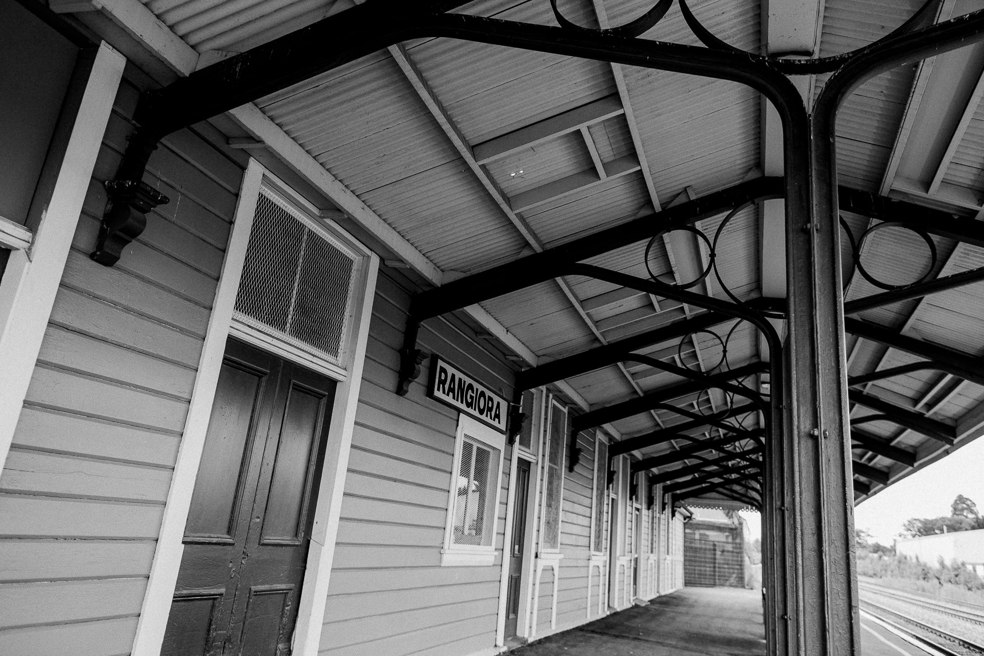 Rangiora train station