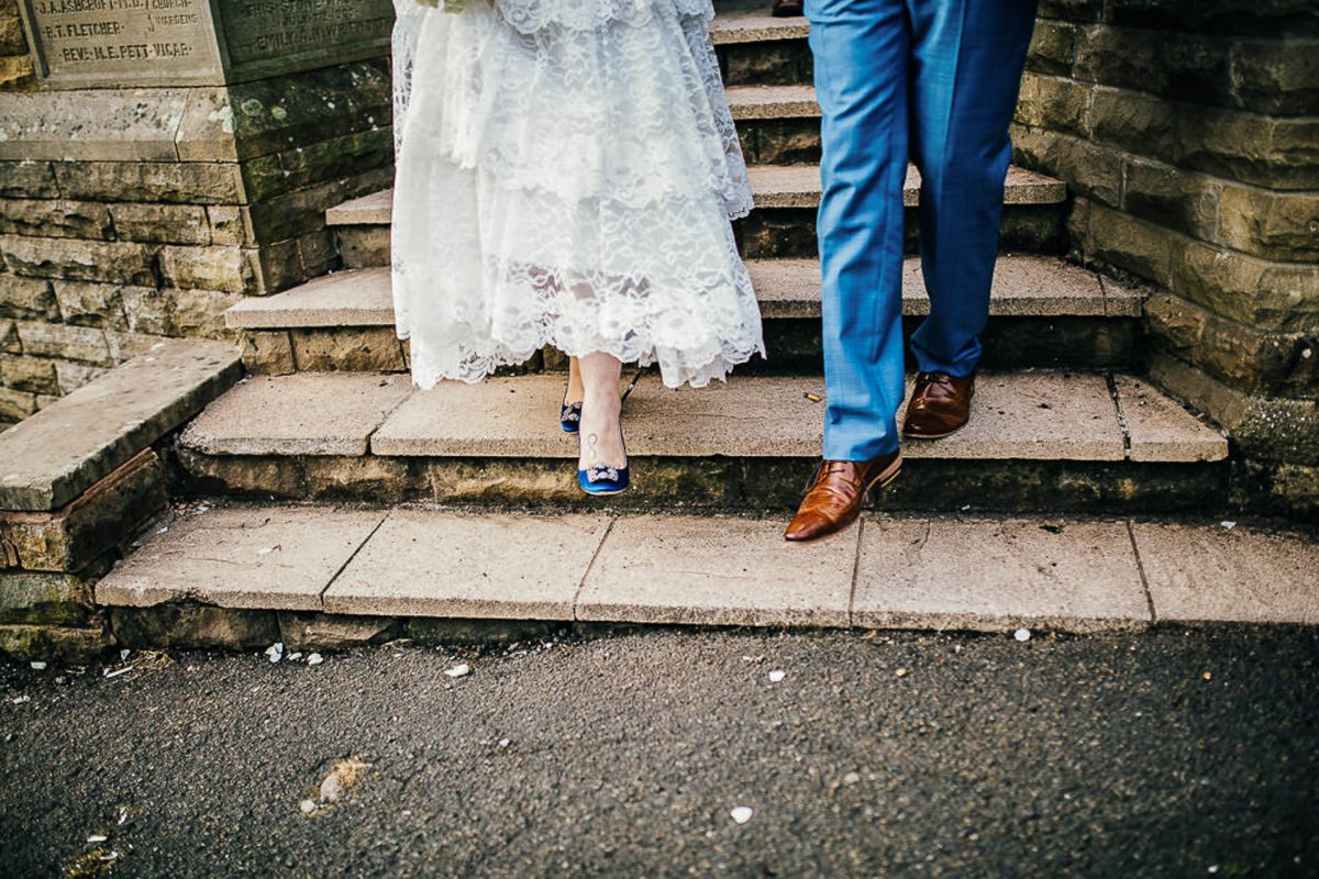 manchester wedding photographer, ayesha photography, alternative manchester wedding photographer, manolo blahnik wedding shoes