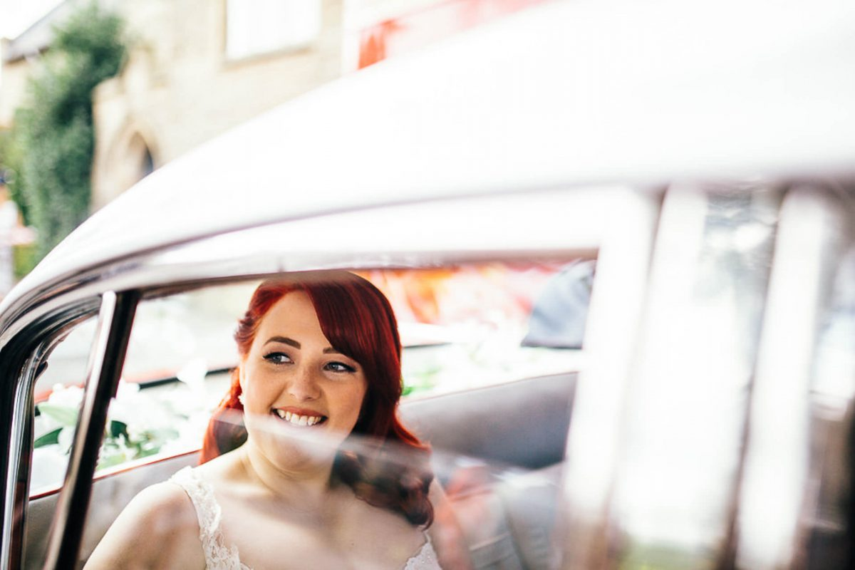 manchester wedding photographer, ayesha photography, alternative manchester wedding photographer, bride leaving church