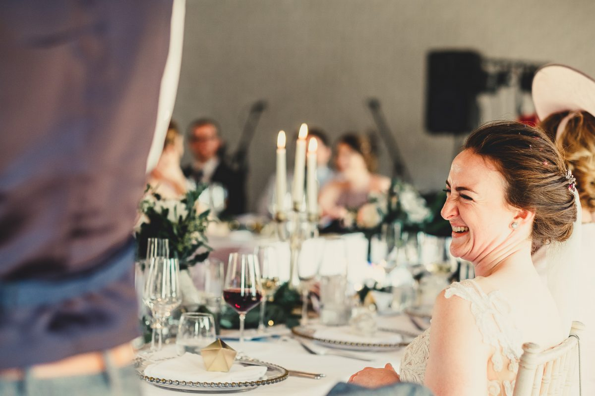 colshaw hall wedding photography, ayesha photography, manchester wedding photographer, manchester wedding photographer, cheshire wedding photographer, cheshire wedding photography, bride laughing at grooms speech