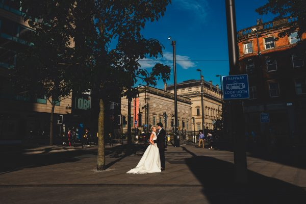 manchester art gallery wedding photographer, manchester art gallery wedding photography, manchester wedding photographer, manchester wedding photography, manchester city centre wedding, ayesha photography, the white closet, jesus piero wedding dress, manchester city centre wedding, whitworth art gallery wedding, whitworth art gallery wedding photographer, whitworth art gallery wedding photographer, creative wedding photographer manchester, luxury wedding photographer, bride and groom walk out to lots of colourful confetti outside manchester art gallery