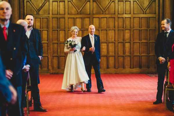sheffield town hall wedding photographer, sheffield town hall wedding photography, sheffield town hall wedding, sheffield wedding photographer, sheffield wedding photography, ayesha photography, manchester wedding photographer, manchester wedding photography, father of the bride walks bride up the aisle