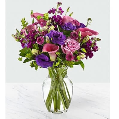 Love out Loud Bouquet w/vase