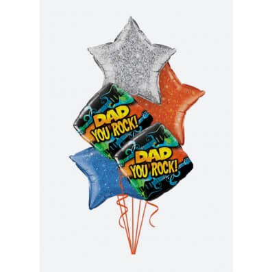Arreglos de Globos - Dad You rock