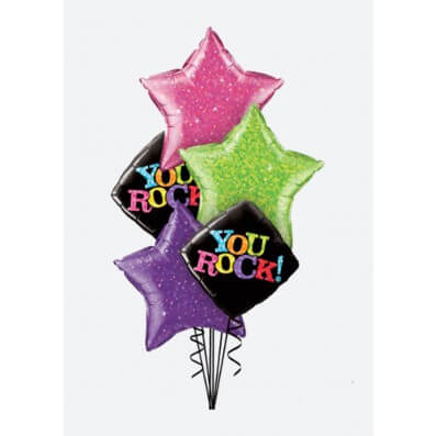 Arreglos de Globos - You rock