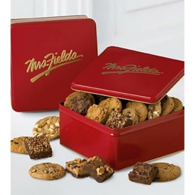 Mrs. Fields® Clásico - Galletas surtidas con brownie