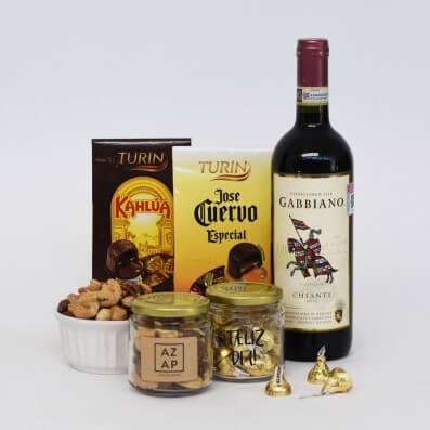 REGALO ESPECIAL - VINO Y CHOCOLATES