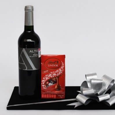 Regalo Corporativo - Vino y Chocolate