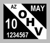 OHV Decal Example