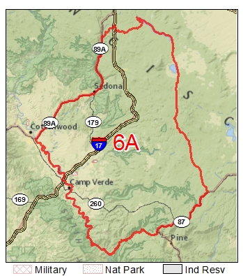 Unit 6a Arizona Map.All About The Best Hunting Spots In Arizona Hunting Unit 22 Azgfd