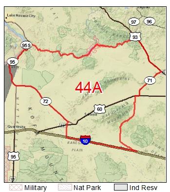 Game Management Unit 44a Map