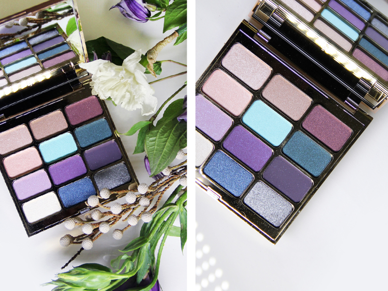Stila, florals, floral inspired beauty, b-glowing, eyes