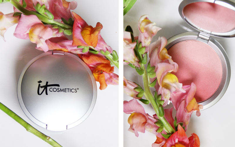 it cosmetics, florals, floral inspired beauty, b-glowing