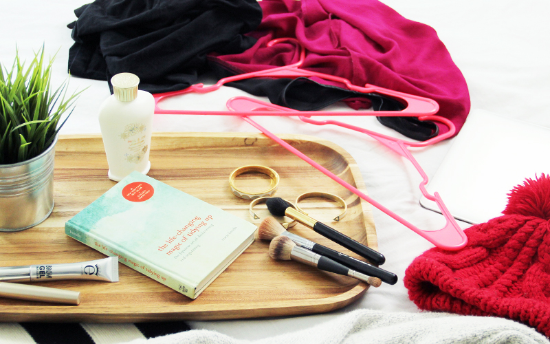 Marie Kondo, b-glowing, Tidying up your Makeup, makeup