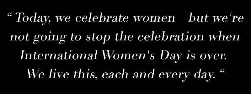 International Women's Day, Female Founders, Pledge for Parity