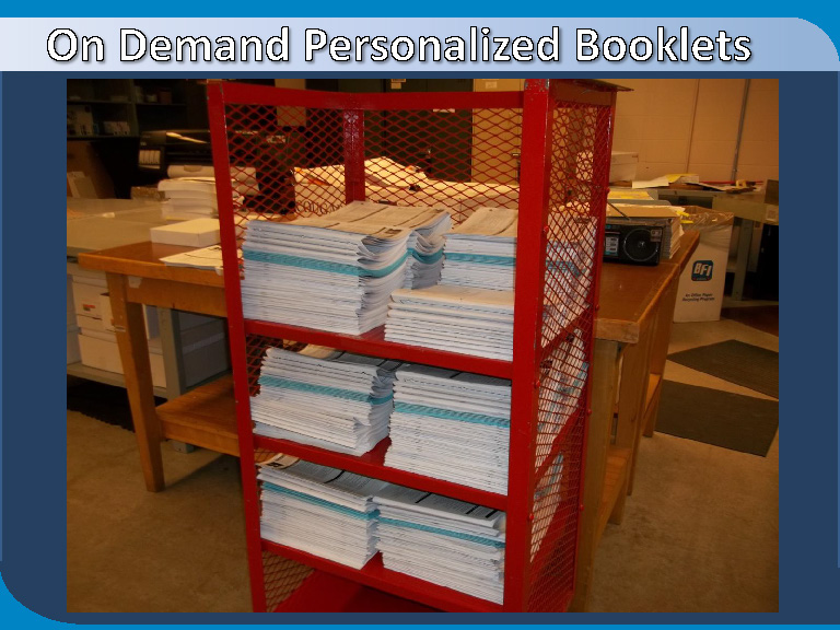 SmartPDFPrintware turns around production in minutes, not days, weeks