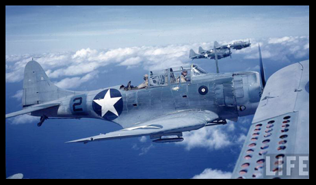 The SBD Dauntless Dive Bomber