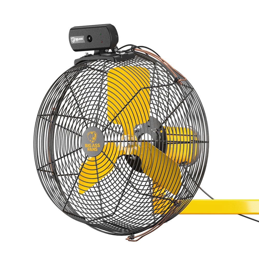 Small Wall Mounted Rotating Fans : Aireye the pedestal fan and mounted from big ass fans